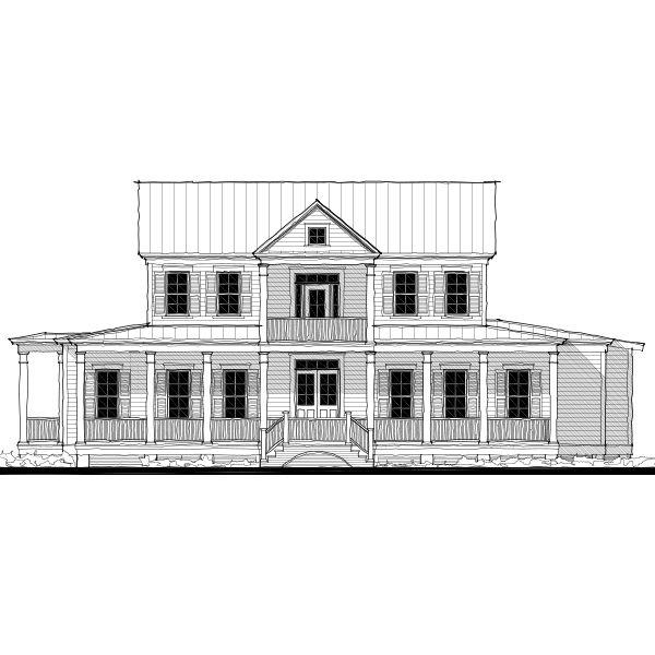 Allison Ramsey Architects Floorplan For The Palmetto