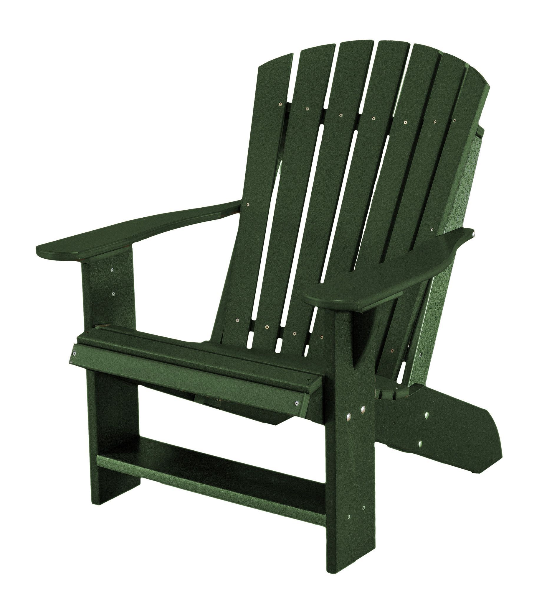 Heritage Poly Lumber Adirondack Chair by Little Cottage Company