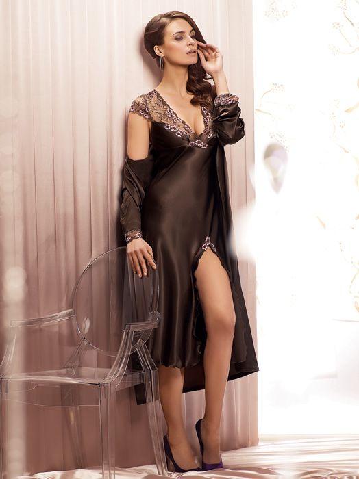 8bdaf9a57a Satin nightdress by Coemi