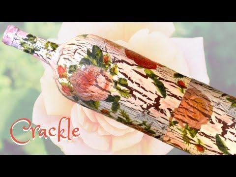 Diy decoupage and crackle using elmer s glue \u2013 Artofit