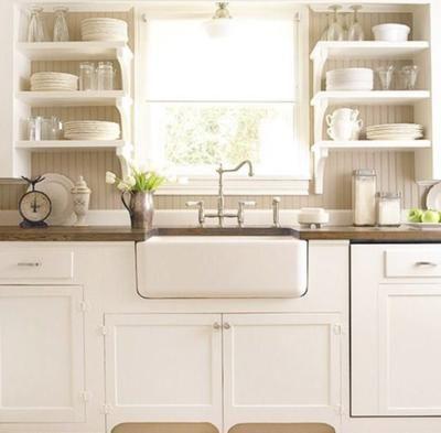 18 imágenes de cocinas sin armarios cerrados | Cocinas, Decoración ...