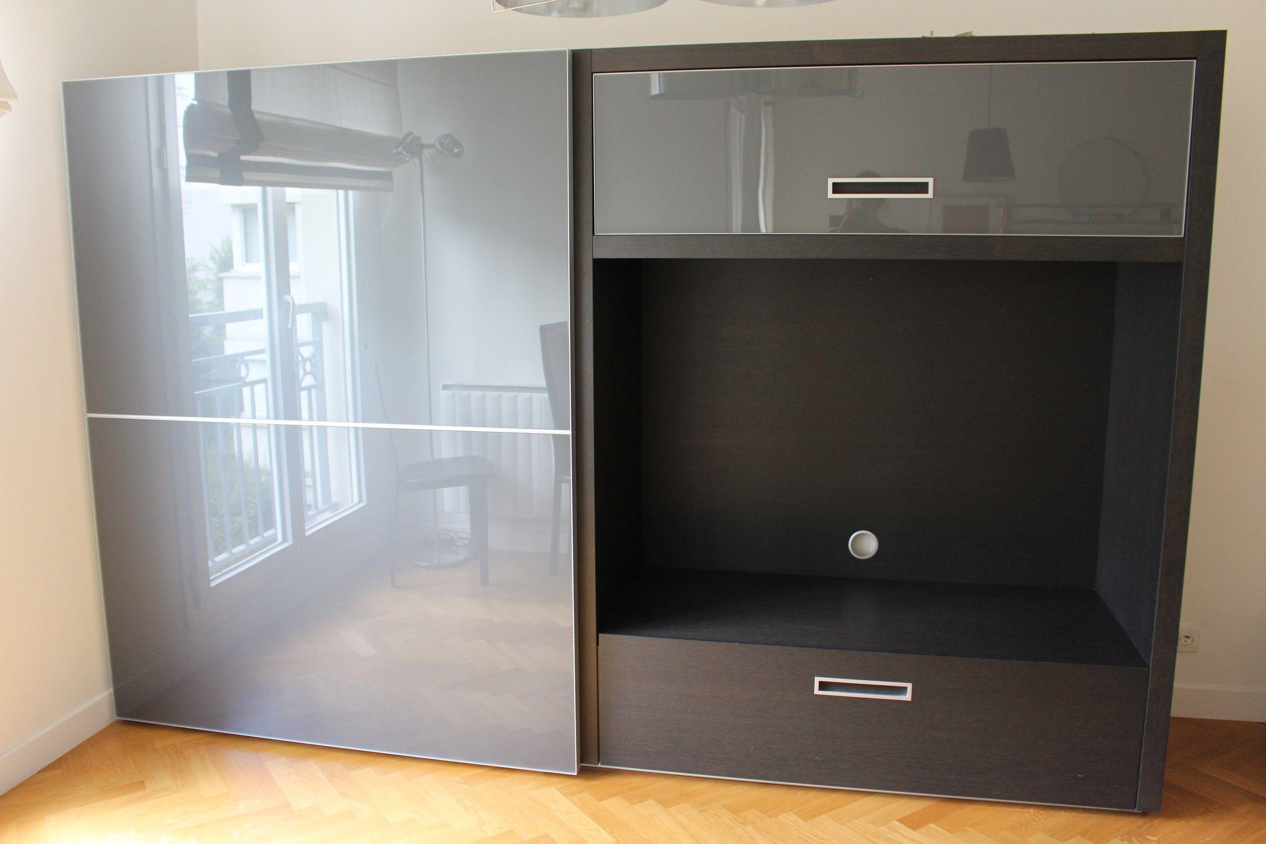 meuble tv bibliotheque tv
