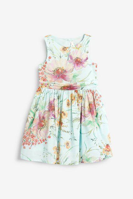 Gemustertes Kleid | Schicke kleider für mädchen, Bedruckte ...