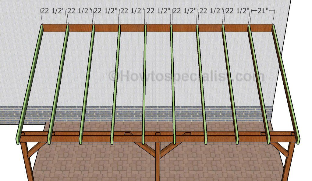 How to build an attached carport Diy carport, House with