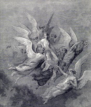 Gustave Dore Illustration on Purgatorio 30