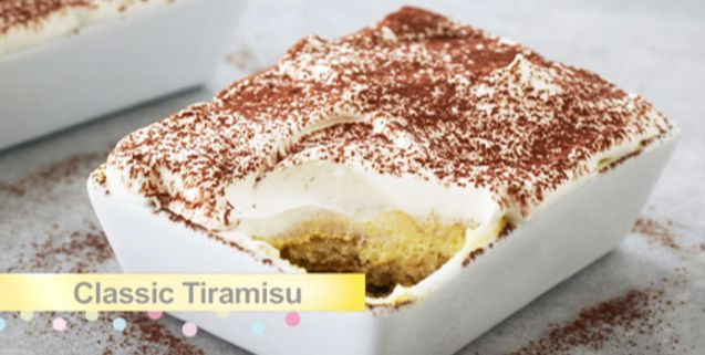 Classic tiramisu asian food channel afc pinterest asian try this quick and easy tiramisu recipe from bake with anna olson forumfinder Images