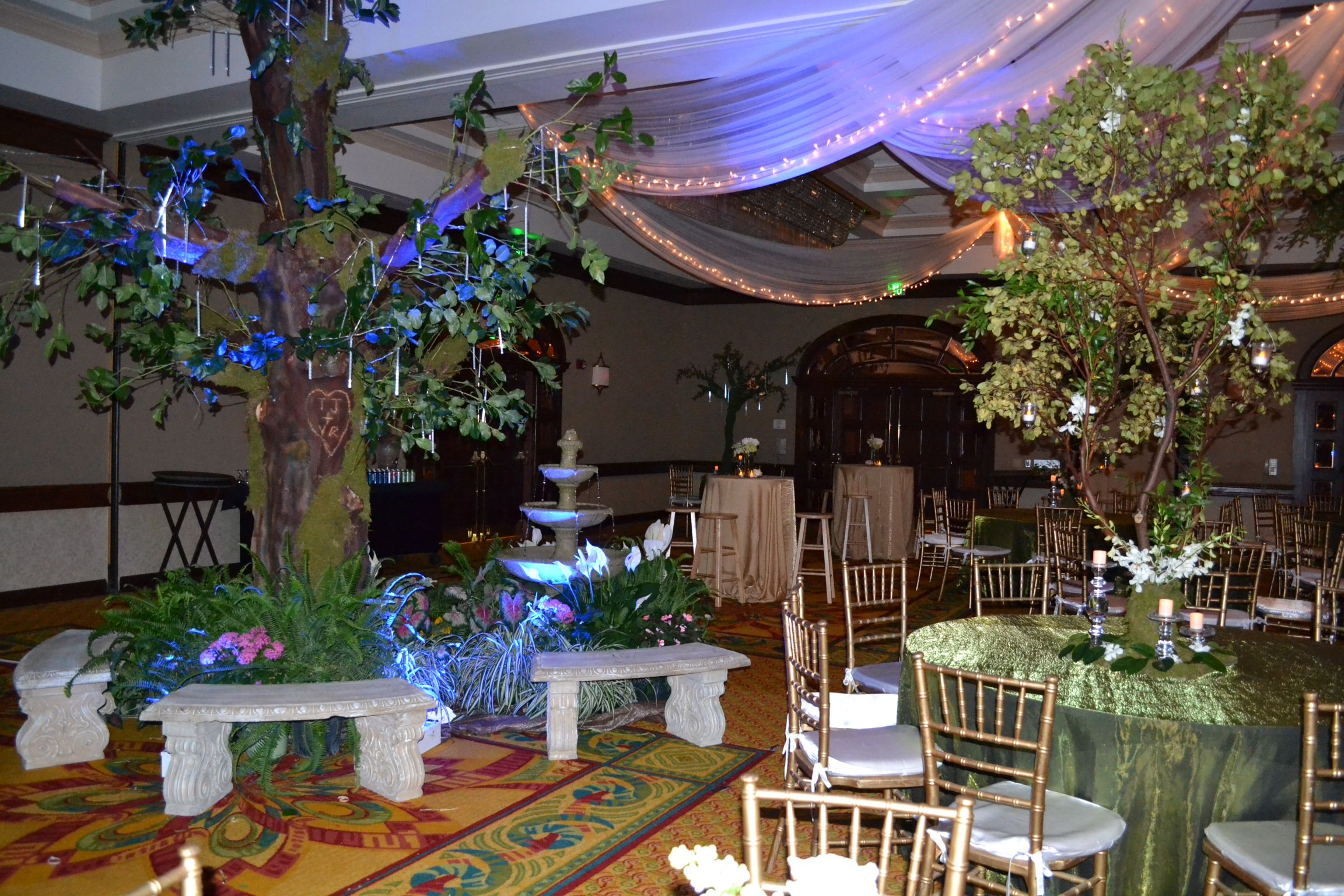 enchanted prom theme prom themes enchanted garden and