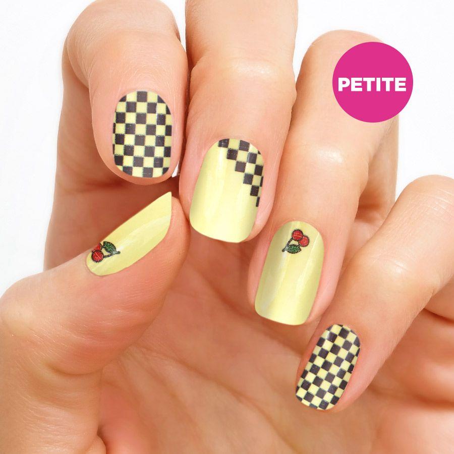 Color Street Checks 'n Cherries - petite nail strips ...