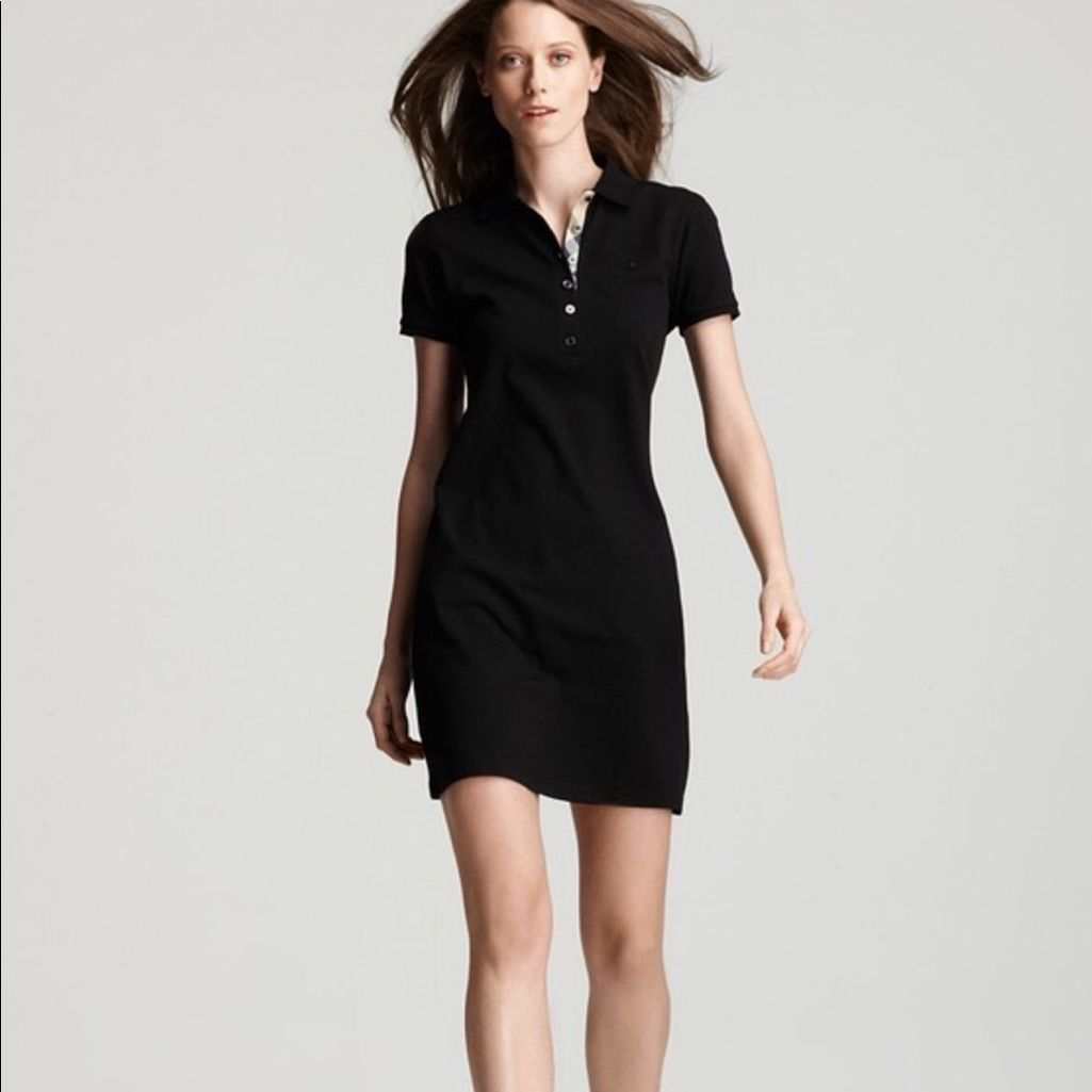 Burberry Polo Dress In Black   Pinterest
