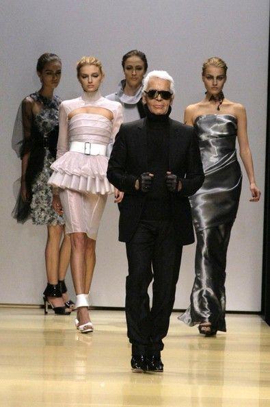 Karl Lagerfeld in Paris Fashion Week , Karl Lagerfeld Spring