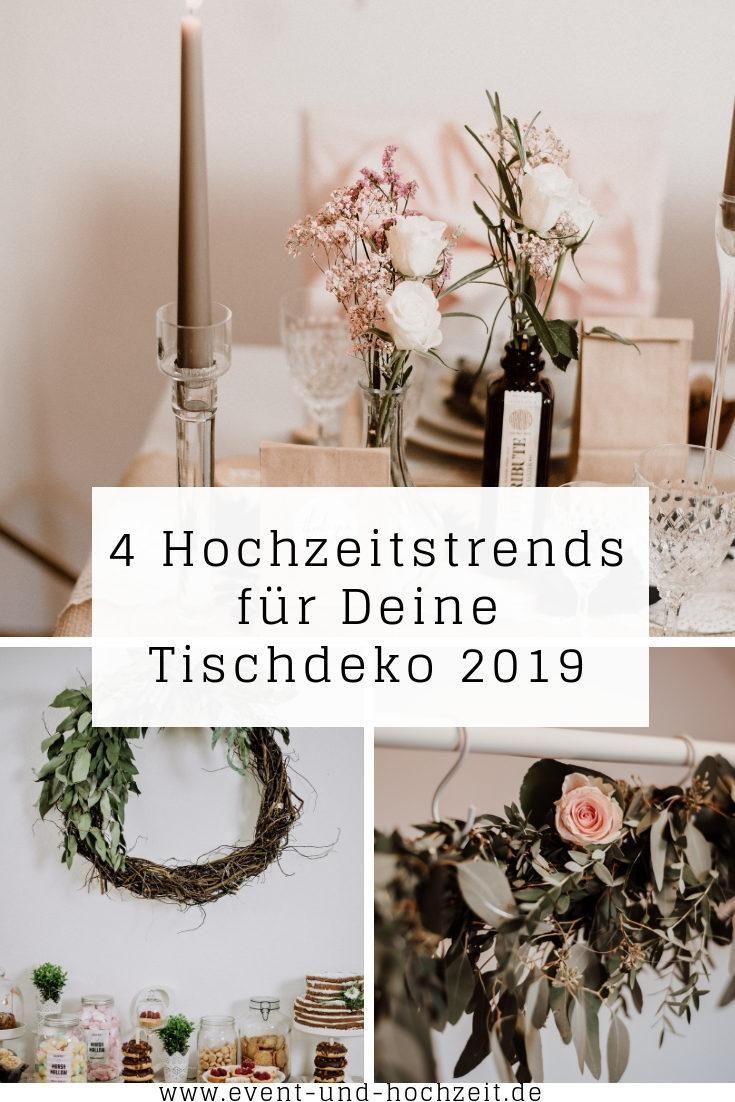 4 Hochzeitstrends Fur Deine Tischdeko 2019 Wird Wieder Naturlich
