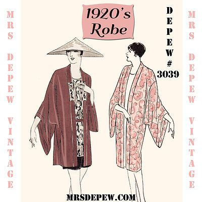 1920S kimono SEWING PATTERN - Google Search | Sewing projects ...