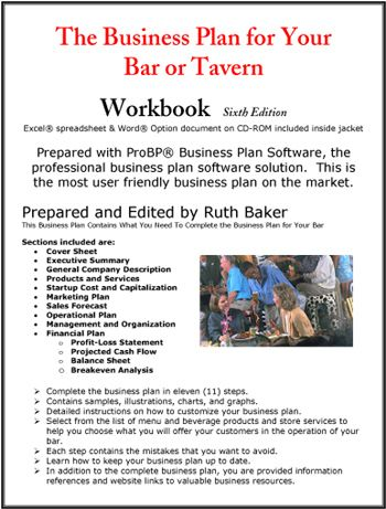 The Business Plan for Your Bar or Tavern Itu0027s Business Time - bar business plan