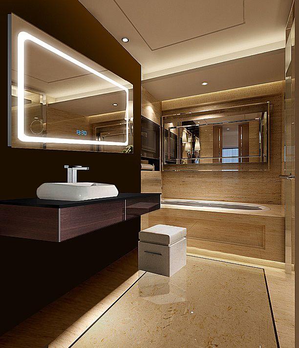 bathroom mirror led - Google Search | Asia SF from Ayman | Pinterest ...