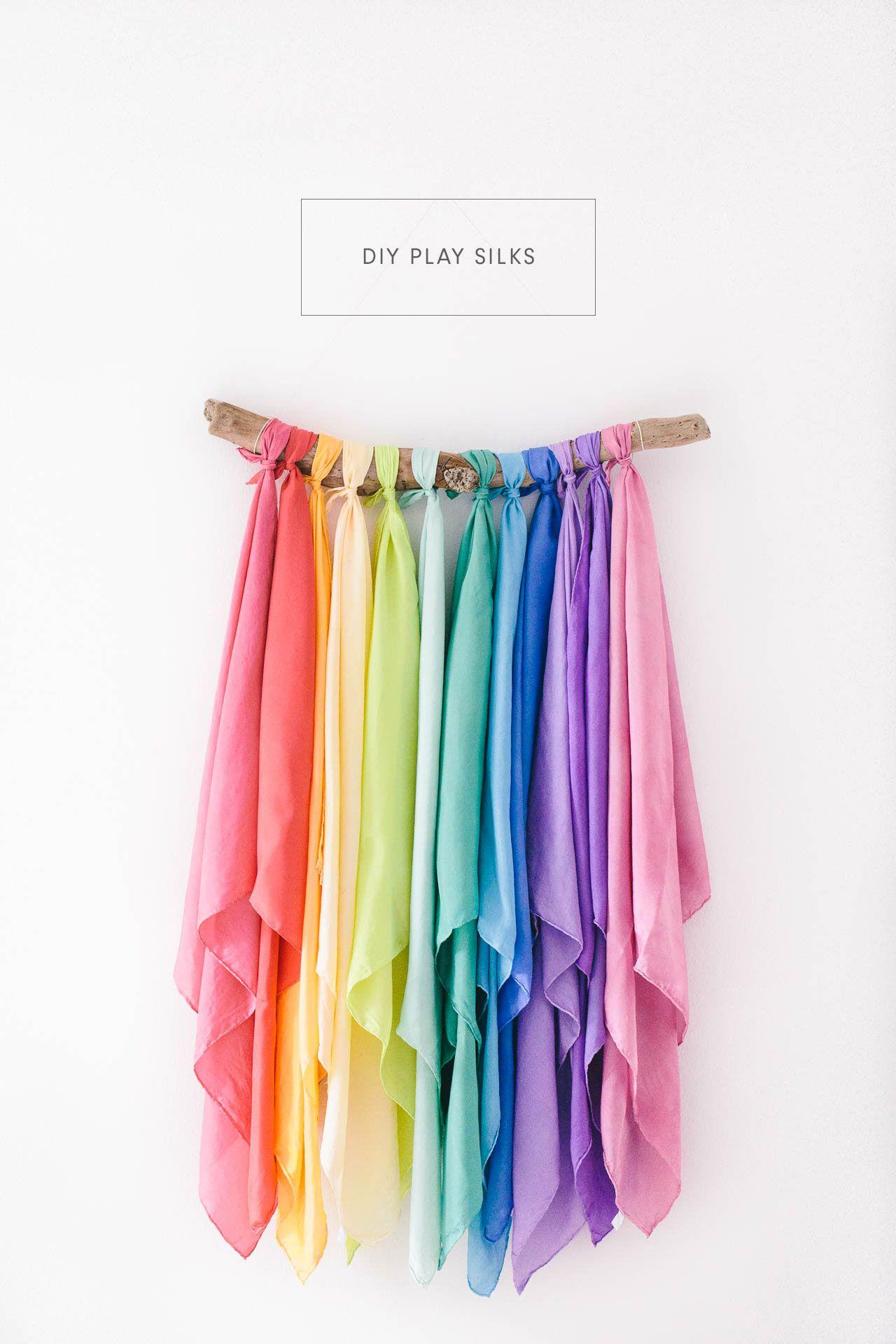 Diy Play Silks Travel Toys Diy For Kids Waldorf Toys
