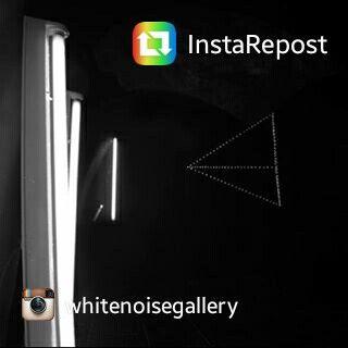 Directions to pass through the black mirror. #art #contemporary #whitenoisegallery #rome #mirror #exhibition #brunocerasi #black