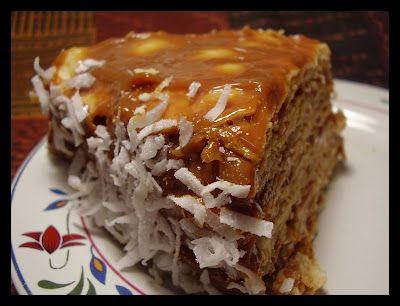 Torta de mil hojas. Thousand layer cake. the best!