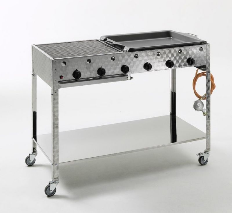 landmann gasgrillwagen gastrobr ter 6 brenner edelstahl gasbr ter pinterest edelstahl. Black Bedroom Furniture Sets. Home Design Ideas