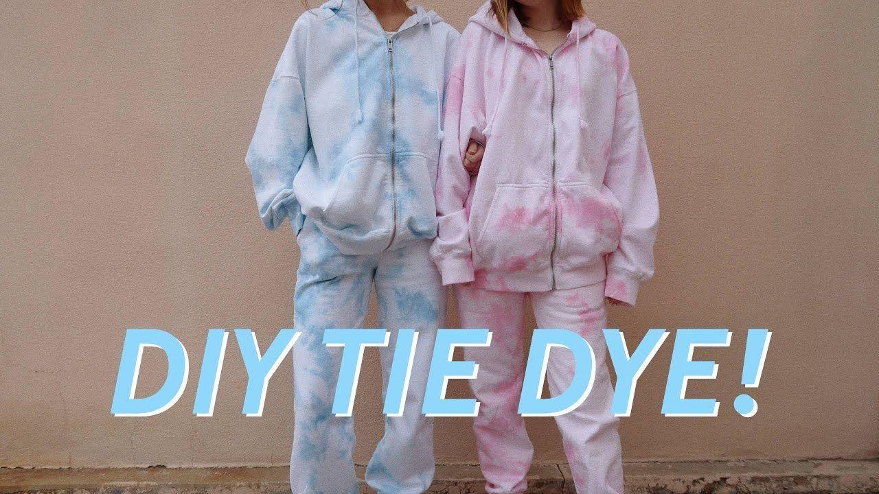 Diy Tie Dye Matching Sets How 39 Or 39 What 39or39 Diy Diy Tie Dye Dye Matching Sets Tie In 2020 Tie Dye Diy Tie Dye Hoodie Tie Dye Shirts [ 720 x 1280 Pixel ]