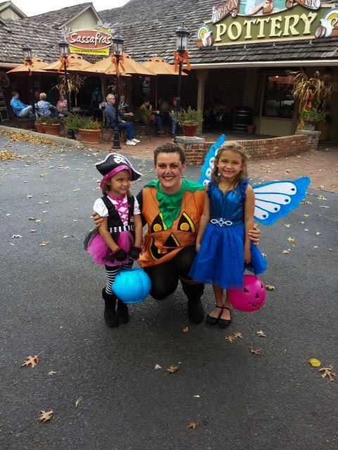 Halloween Fun at The Old Mill Square.