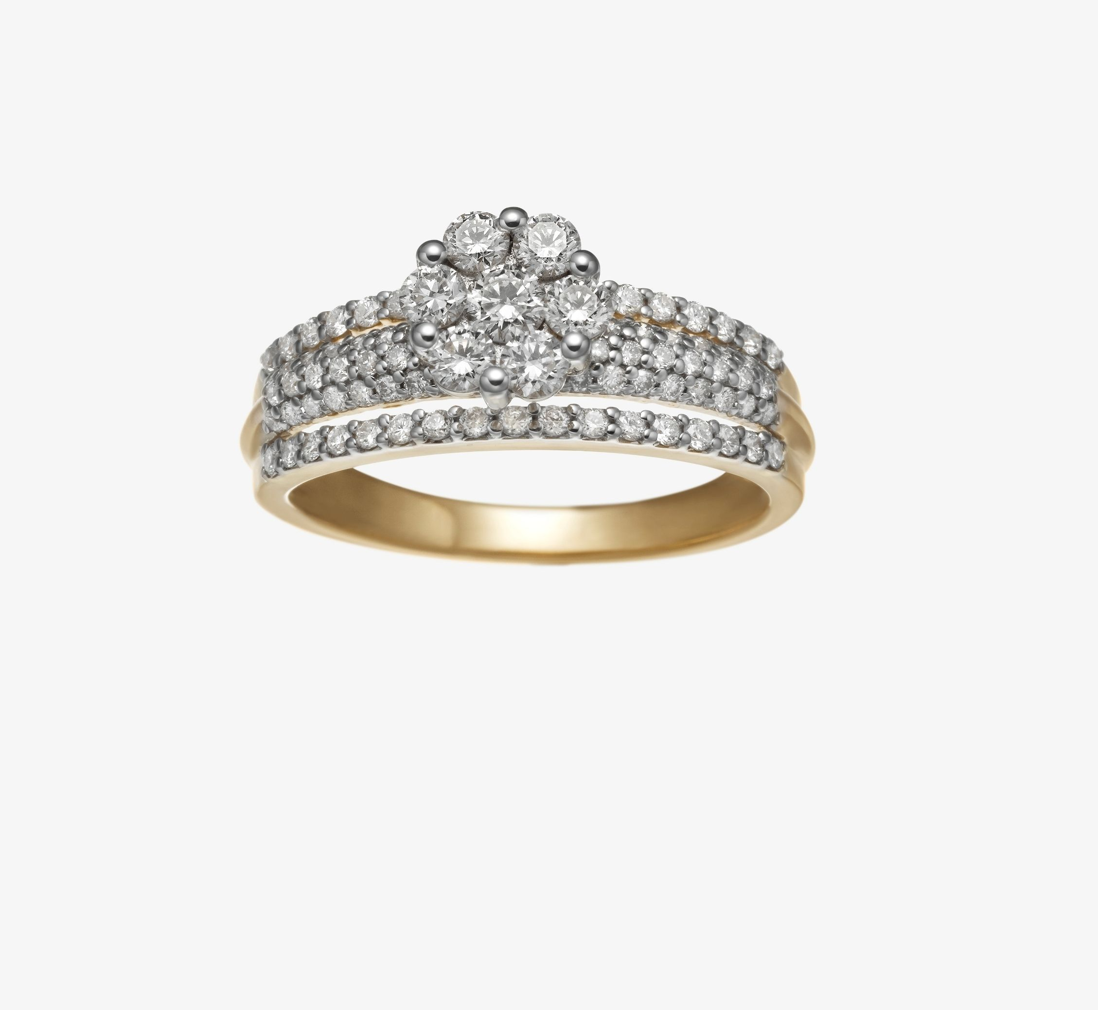 product solitaire diamond charm melody ring promise rings centres