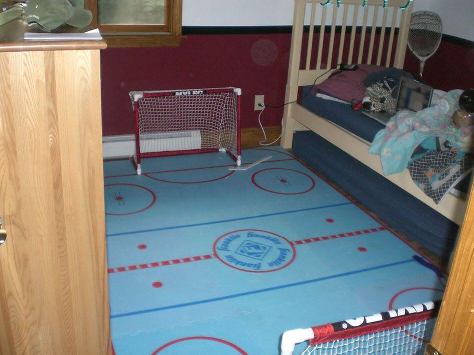 Knee Hockey Rink Needs Name Hockey Hockey Rink Decor