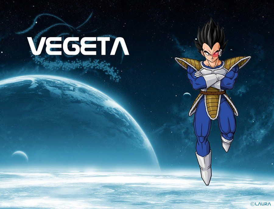 Vegeta Wallpaper by on