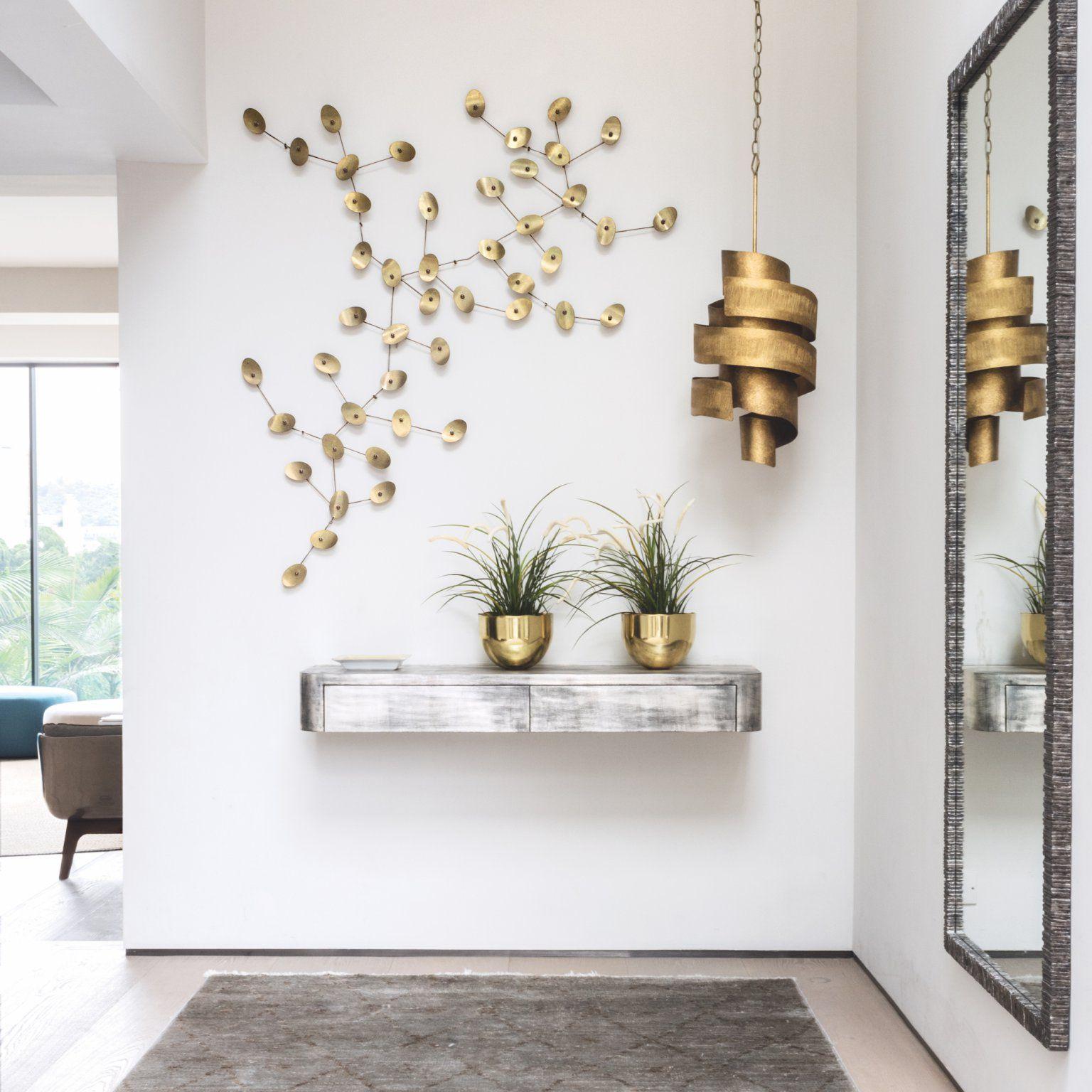 1001 ideas de decoraci n de recibidores modernos for Espejos originales recibidor