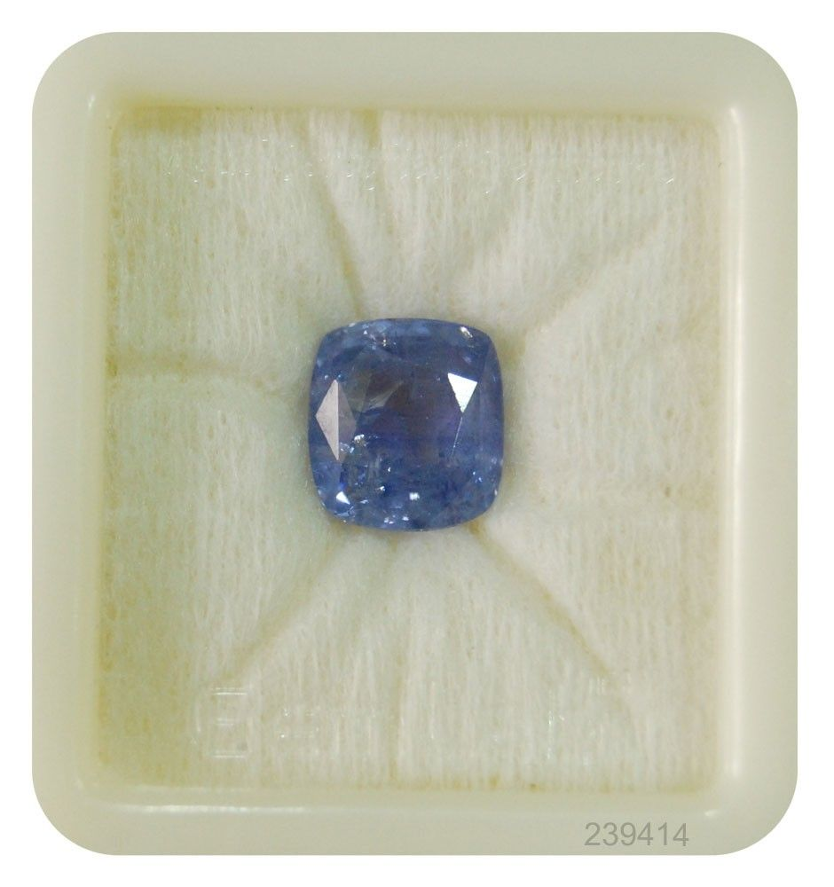 Natural Quality Blue Sapphire Gemstone 9 Ratti And 5 7ct The Shape Of Neelam Stone Is The Rectangular Cushion Natural Blue Sapphire Gemstones Gemstone Prices