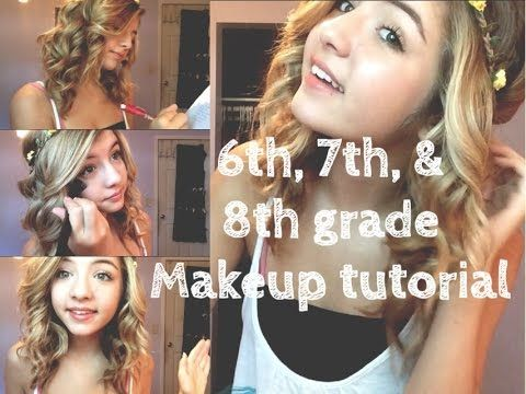 Middle School Makeup 6th 7th 8th Grade Make Up Pinterest