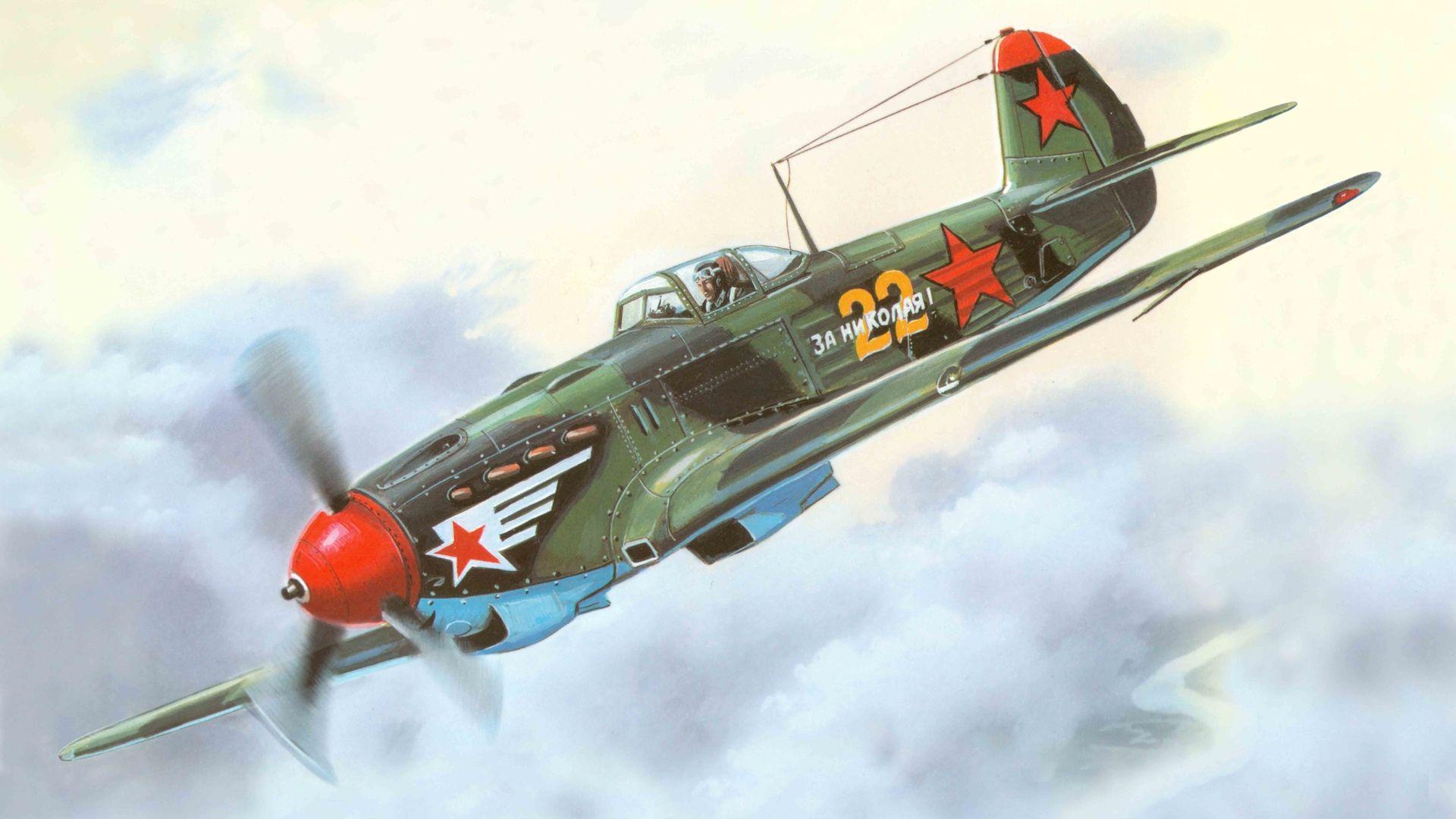 Обои одномоторный, советский, истребитель, yak-3. Авиация foto 19
