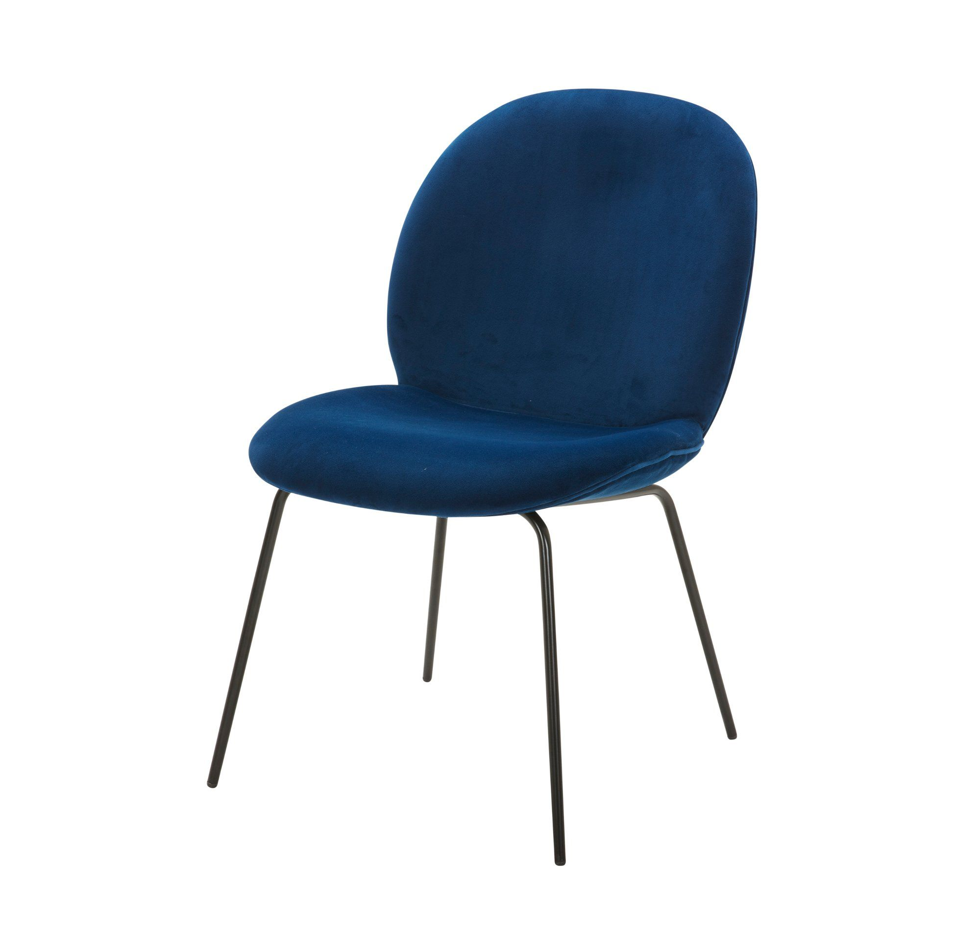 Navy Office Guest Chair
