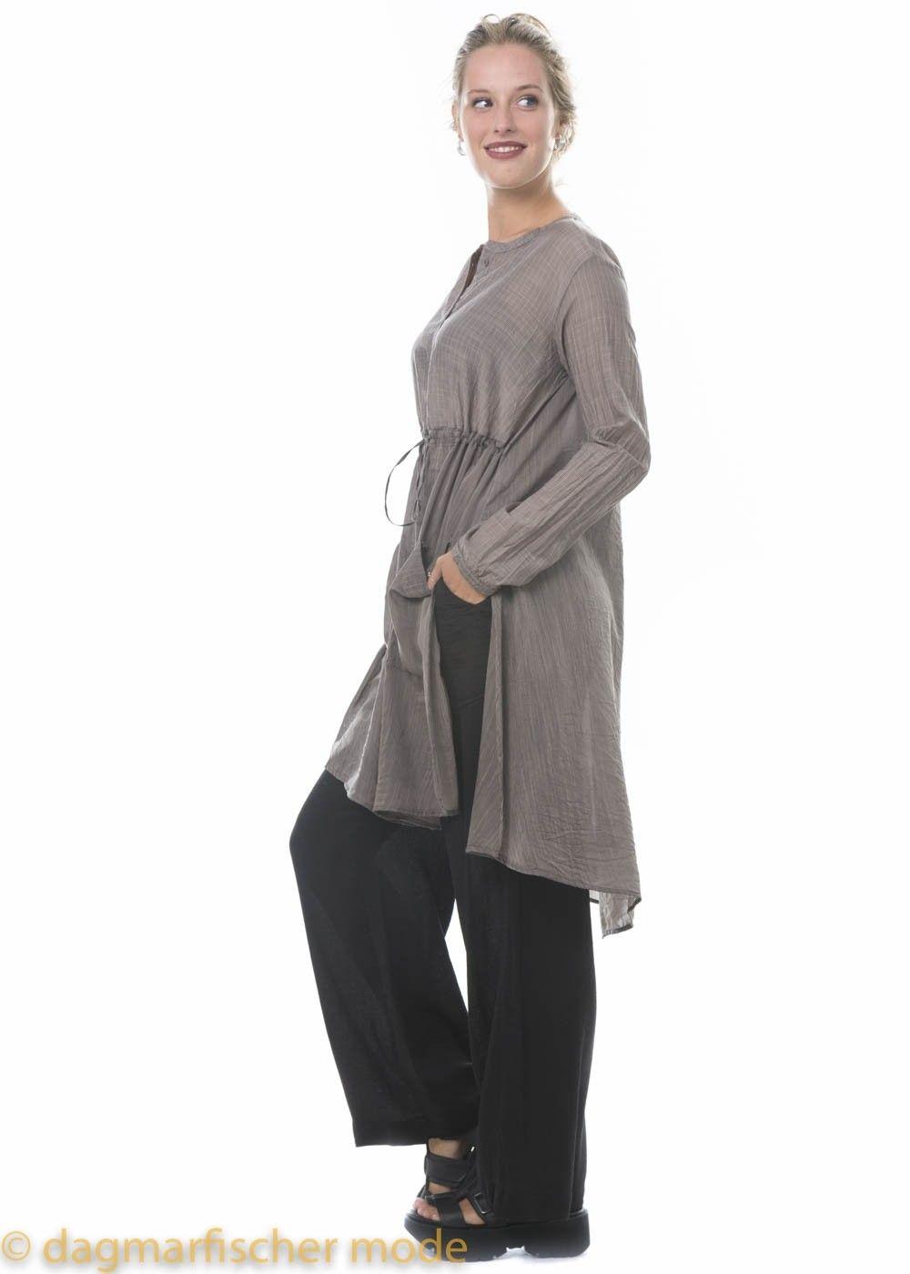 Lange Bluse von TRANSIT in mauve - dagmarfischer mode ...