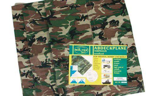 Bache agricole 2m x 3m u2013 Camouflage CE u2013 Miltec Cette bache