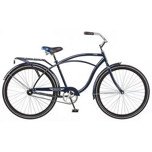"Schwinn Cruiser Commuter Bike 26"" Women's Comfort Blue Beach Hybrid Bicycle New!"