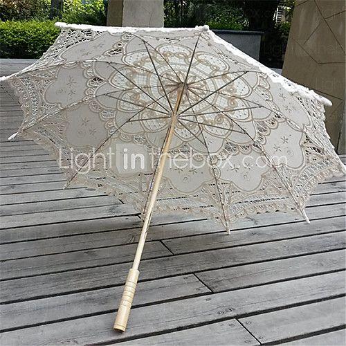 Vintage Lace Parasols Bridal Umbrella (More Colors) - USD $27.99