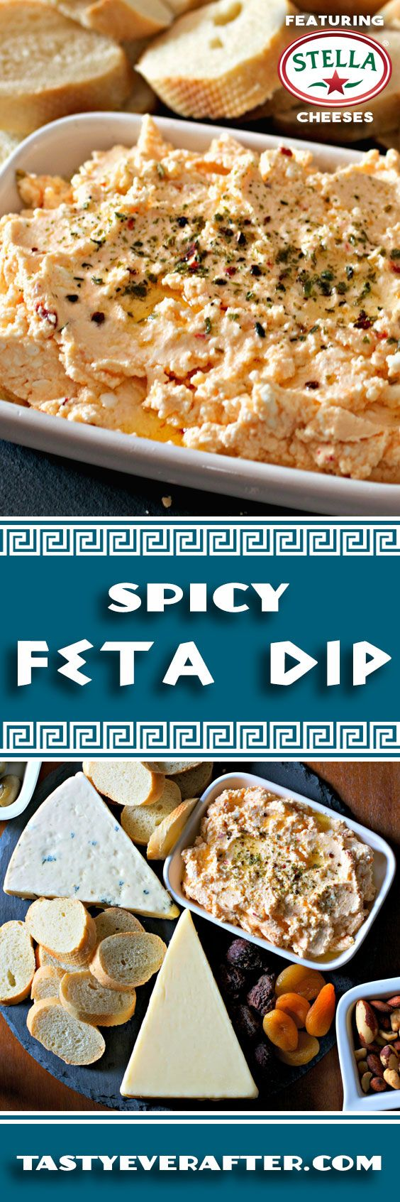 greek spicy feta dip recipe cheese galore rezept spreads dips pesto pinterest. Black Bedroom Furniture Sets. Home Design Ideas
