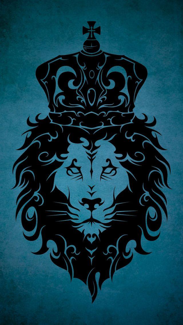 Tribal King Lion Lion Wallpaper Tribal Lion Tribal Wallpaper