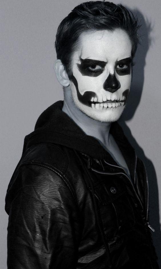 Halloween dramático 2 Halowen Pinterest Halloween makeup - maquillaje de vampiro hombre