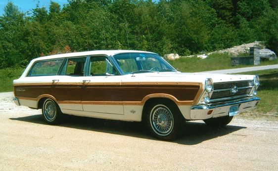 1966 Ford Fairlane Wagon - This is what I came home from the