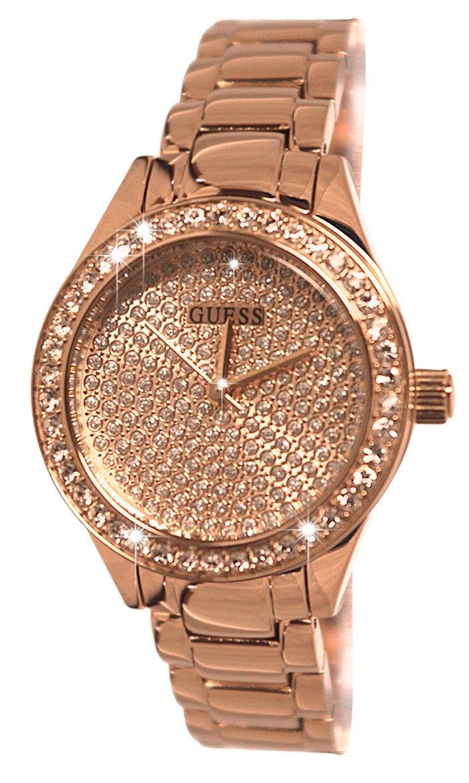 56164f7d6436 guess rose gold diamond watch - Google Search