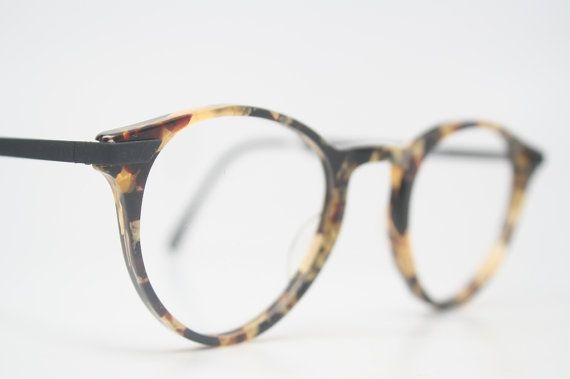 Vintage Glasses Frames Gold & Tortoise Tortoise by PinceNezShop ...