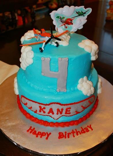 Airplane theme cake Sweet Temptations from the hart Pinterest