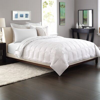 Photo of Pacific Coast Feather AllerRest Cotton Down Alternative Comforter Size: Full/Double, Queen