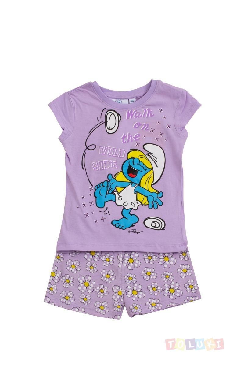 Pyjama Fille Schtroumpf Walk on the Wild side http://www.toluki.com/prod.php?id=390 #Toluki #enfant