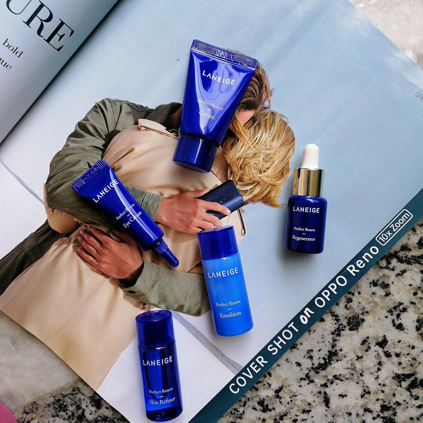 LANEIGE Perfect Renew Trial Kit Review Laneige, Renew