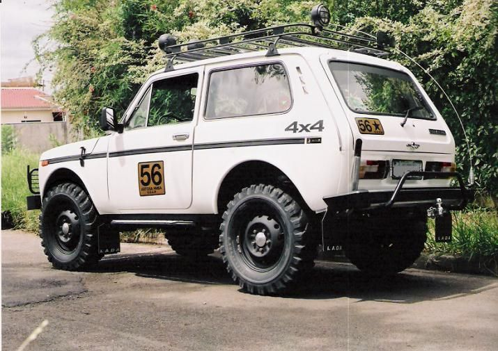 Lada Off Road In Russia Niva Offroad Vehicles Expedition Vehicle