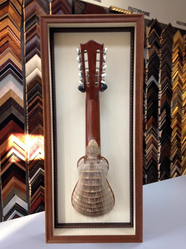 Who can say they\'ve framed an Armadillo Ukulele? Fastframe Austin ...