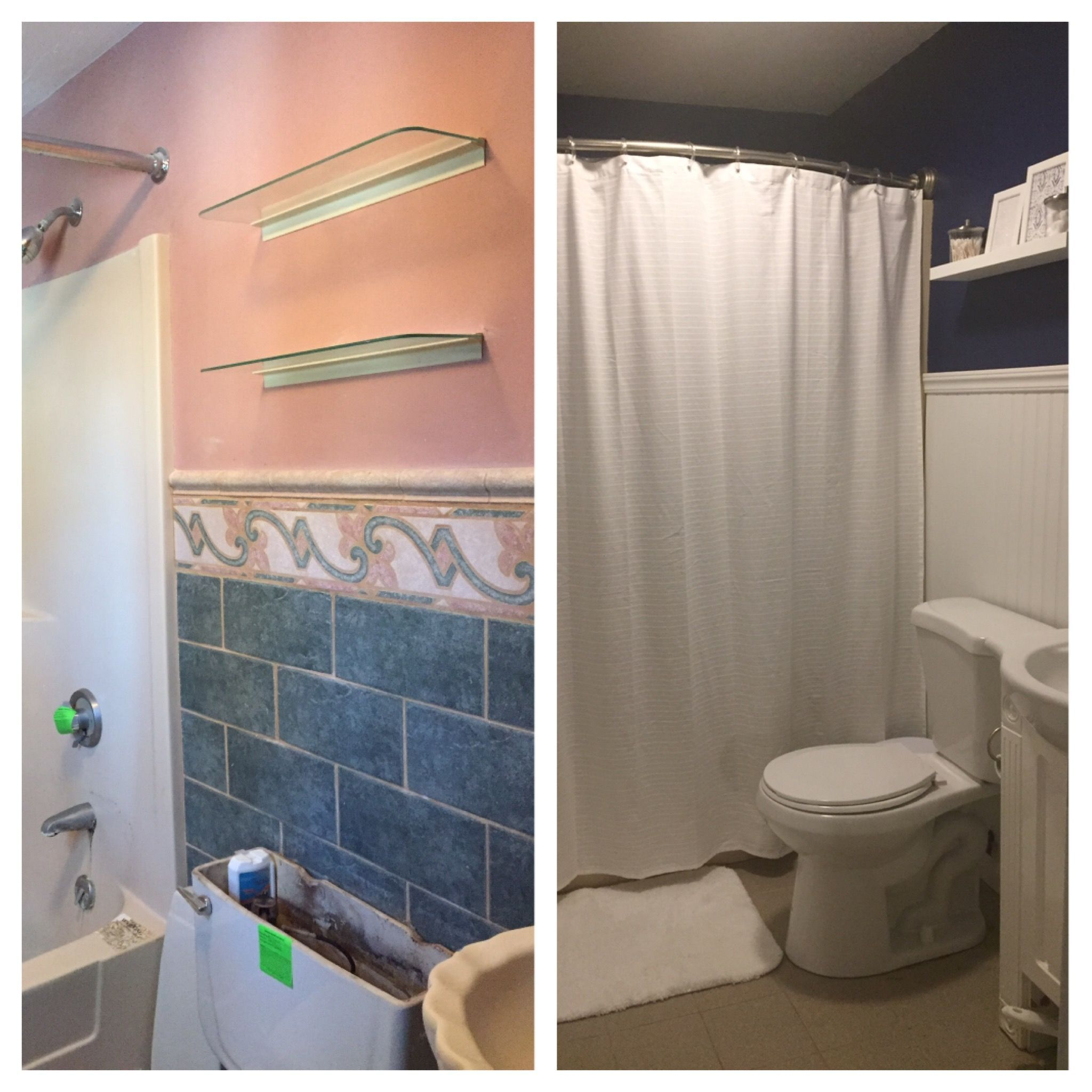 Bathroom Remodel On A Budget For Under $300