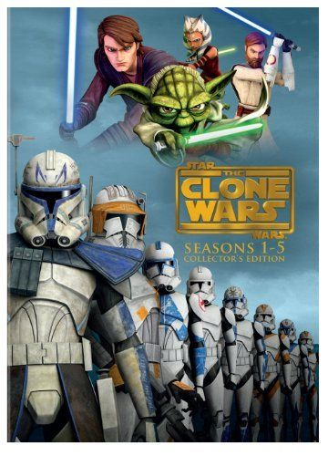 Star Wars: The Clone Wars - Seasons 1-5!